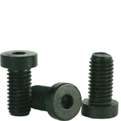 "#10-24x3/4"" Low Head Socket Caps Coarse Alloy Thermal Black Oxide (2,500/Bulk Pkg.)"