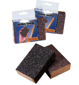 "Flexible Sanding Sponges - 3-3/4"" x 2-5/8"" x 1"", Grade: Medium/ Coarse, Grit: 120/80, Mercer Abrasives 280FMC (144/Pkg.)"