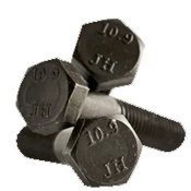 M10-1.50x130 MM (PT) Hex Cap Screws 10.9 DIN 931 Coarse Alloy Plain (200/Bulk Qty.)
