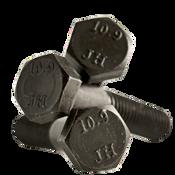 M10-1.25x100 MM (PT) Hex Cap Screws 10.9 DIN 960 Fine Alloy Plain (250/Bulk Qty.)