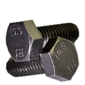 M10-1.50x100 MM Hex Cap Screws 10.9 DIN 961 Coarse Alloy Plain (50/Pkg.)