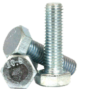 M16-2.00x140 MM (PT) DIN 931 / ISO 4014 Hex Cap Screws 10.9 Coarse Alloy Zinc CR+3 (70/Bulk Pkg.)
