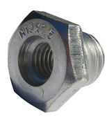 """Arbor Adapters for Wire Wheels and Cups - Converts 5/8""""-11 to M10 x 1.5, Mercer Abrasives 190020 (12/Bulk Pkg.)"""