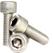 "#0-80x3/8"" (FT) Socket Head Cap Screws Fine 18-8 Stainless (1,000/Bulk Pkg.)"