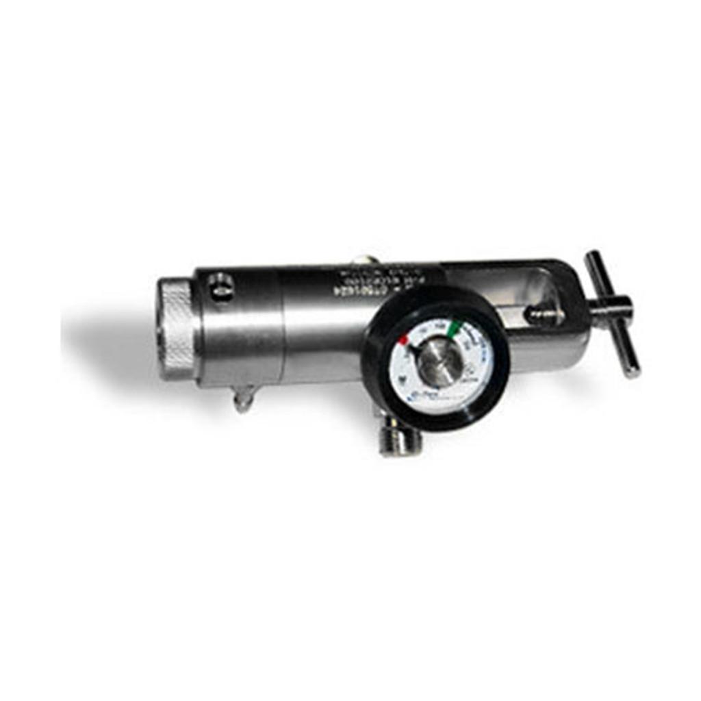 Oxygen Tank REGULATOR - BRASS (0 - 25 LPM)