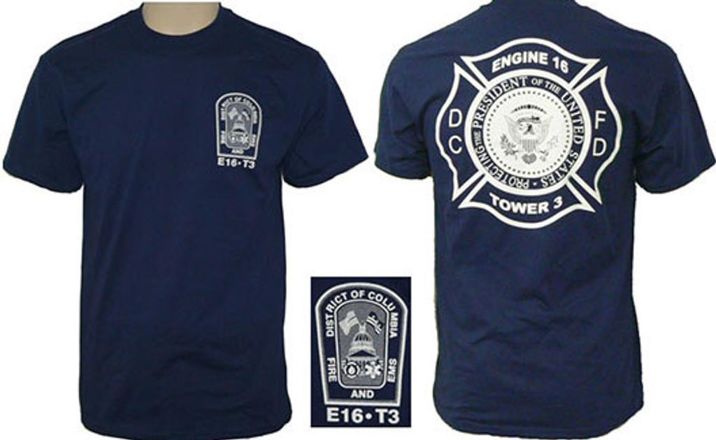 DCFD White House District Duty T-Shirt