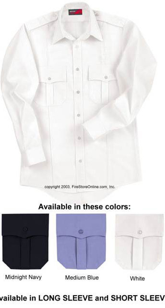 Red Kap Upgraded Uniform Shirt LONG SLEEVE