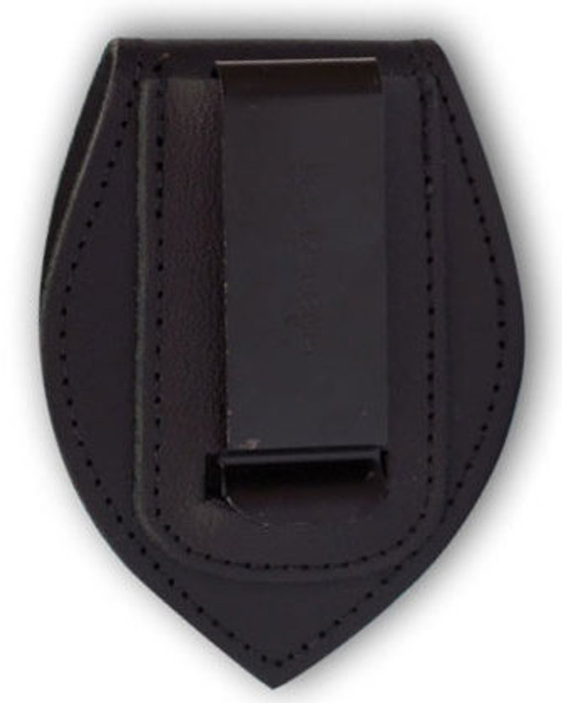 Perfect Fit Universal Teardrop Belt Clip Badge Holder with Velcro Closure