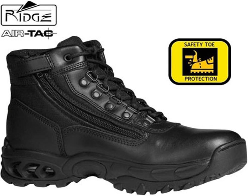 """Ridge 6"""" Mid Duty Boot - SIDE ZIP [STEEL TOE]"""