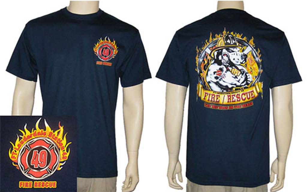 Ft. Lauderdale Fire Rescue Station 49 Duty T-Shirt