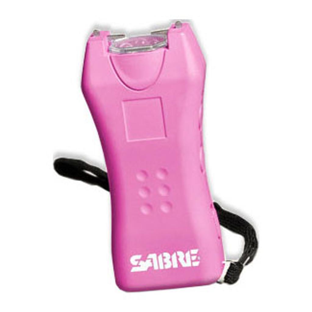 Sabre Mini Stun Gun - 600,000 Volts (Pink)