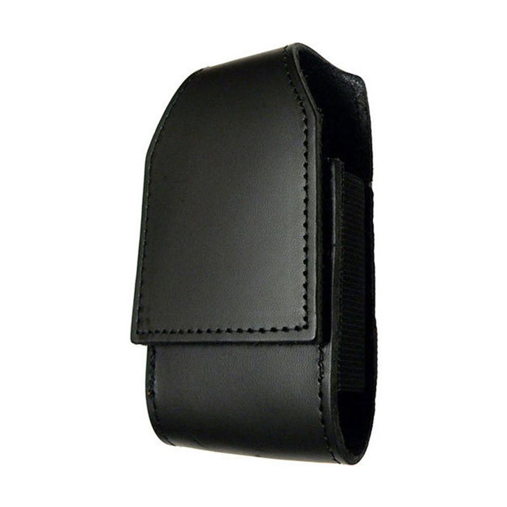 iPhone Duty Case w/CLIP (LEATHER - PLAIN BLACK)
