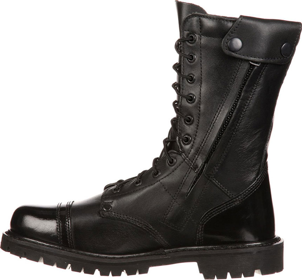 rocky s 10 quot paratrooper side zipper jump boots all