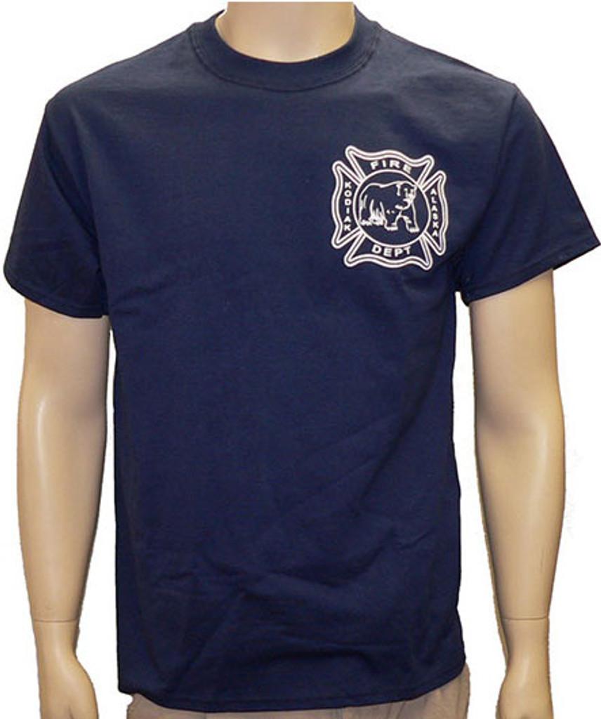 Kodiak Alaska Fire Department Duty T-Shirt