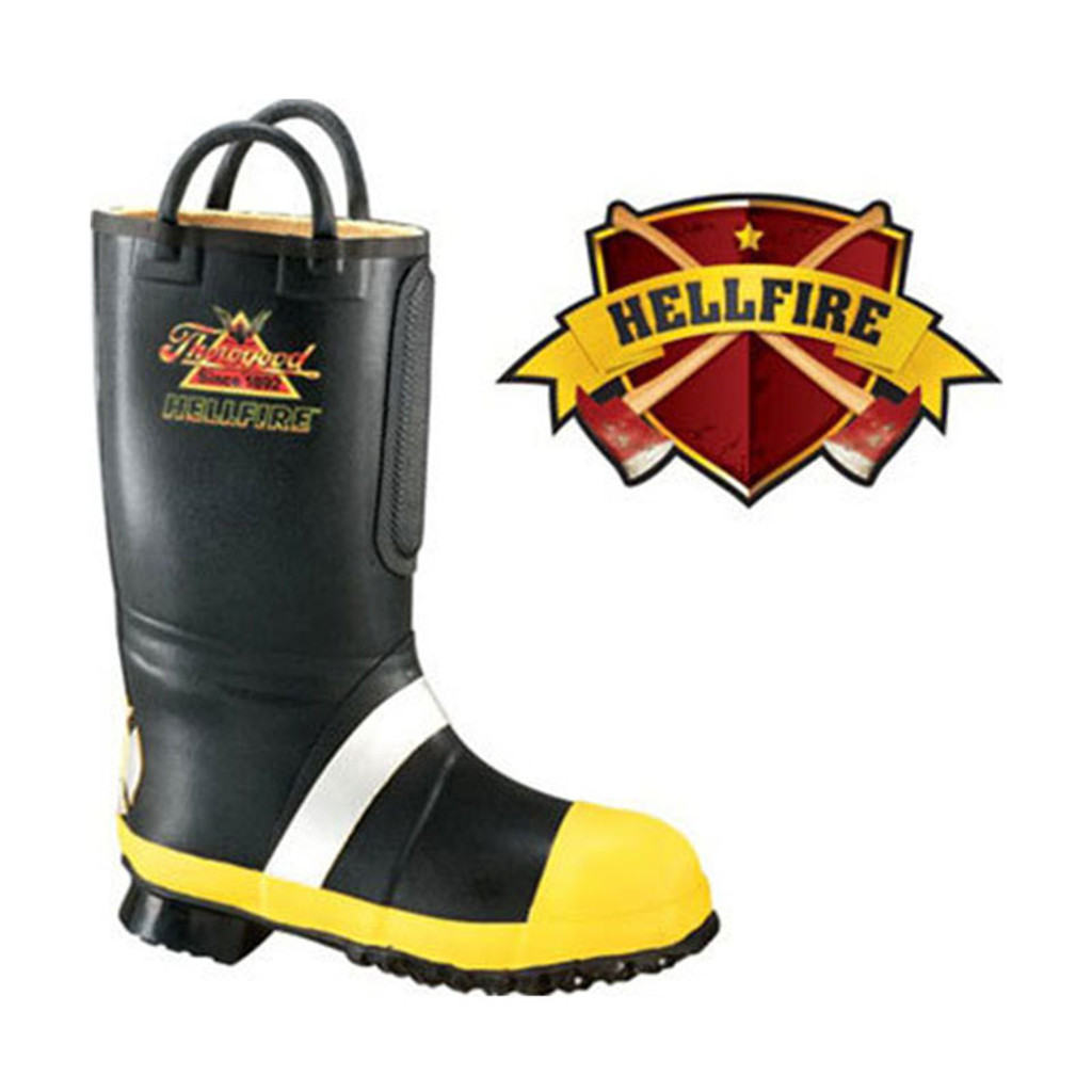 Thorogood - Hellfire Rubber Light Insulated Fire Boot (CALENDERED SOLE)
