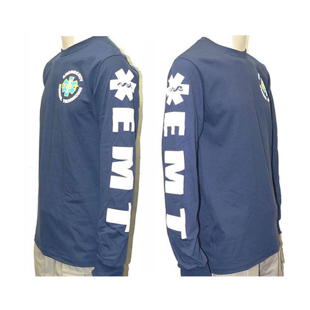 EMT LONGSLEEVE Duty T-Shirt (w/Sleeve Prints)