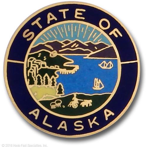 Hookfast Merit Award State Seal Alaska