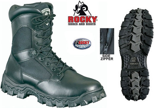 Rocky AlphaForce Side Zip WATERPROOF (SIZE 15.0 REG) CLOSEOUT 50% OFF