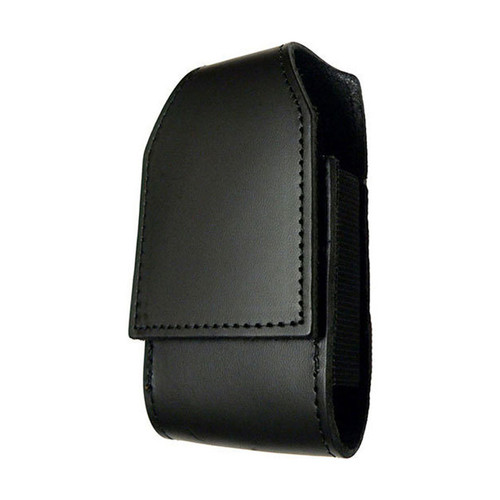 iPhone Duty Case w/CLIP (LEATHER - PLAIN BLACK)
