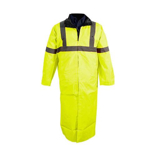 Tact Squad Reversible Long Raincoat (YELLOW/BLACK)