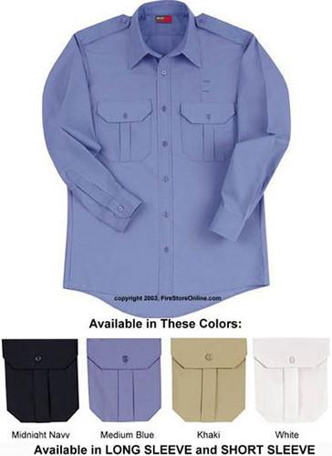 Red Kap Basic Security Long Sleeve Shirt-FireStoreOnline