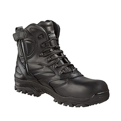 "Thorogood The Deuce 6"" Leather Waterproof Side Zip Composite Safety Toe"
