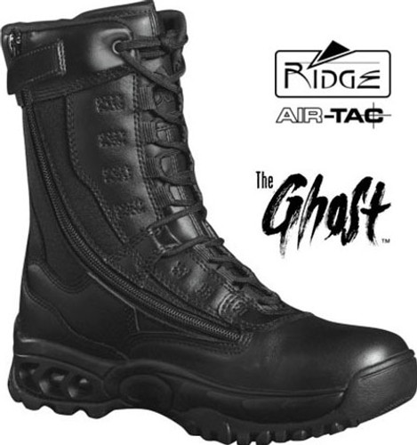 "Ridge GHOST 8"" Side-Zip Duty Boot - Steel Toe"