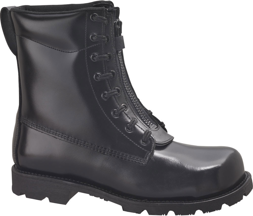 Thorogood Front Zip Oblique Toe Station Boots