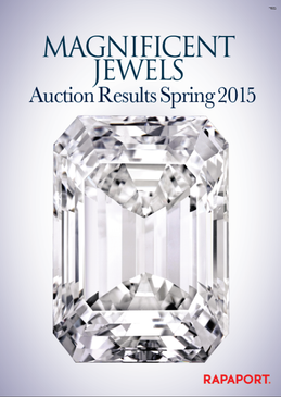 Magnificent Jewels Auctions Results -– Spring 2015