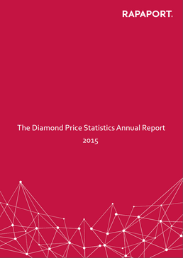 Rapaport Diamond Price Statistics Annual Report 2015