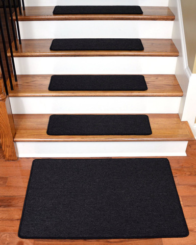 "Diy Stair Treads Out Of Flor Tiles: Dean Serged DIY Carpet Stair Treads 27"" X 9"""