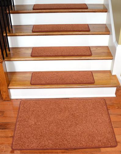 Dean Carpet Stair Treads 27 Quot X 9 Quot Maple Leaf Plush 13