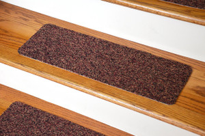 Dean Affordable Non Skid DIY Peel U0026 Stick Carpet Stair Treads   Color:  Multicolor