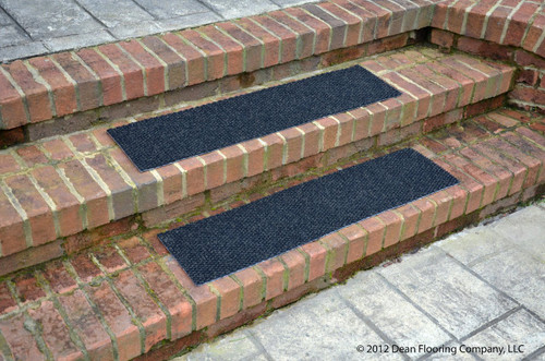 Dean Indoor Outdoor Non Skid Carpet Stair Treads Black