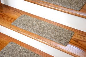 Dean Affordable Non Skid DIY Peel U0026 Stick Carpet Stair Treads   Color: Beige