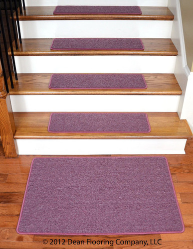 Dean Serged Diy Carpet Stair Treads 27 Quot X 9 Quot Rose Petal