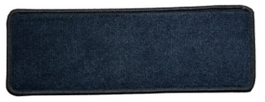 "Dean Premium Stair Gripper Non-Slip Tape Free Pet Friendly DIY Nylon Carpet Stair Treads/Rugs 23"" x 8"" (15) - Color: Locomotive Black"