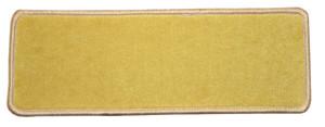 "Dean Premium Stair Gripper Non-Slip Tape Free Pet Friendly DIY Nylon Carpet Stair Treads/Rugs 23"" x 8"" (15) - Color: Sunflower Gold"