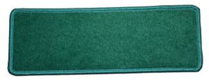 "Dean Premium Stair Gripper Non-Slip Tape Free Pet Friendly DIY Nylon Carpet Stair Treads/Rugs 23"" x 8"" (15) - Color: Mountain Pine Green"