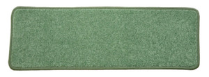 "Dean Non-Slip Tape Free Pet Friendly Stair Gripper DIY Carpet Stair Treads/Rugs 27"" x 9"" (15) - Color: Ocean Mist Green Plush, American Made Top Quality"