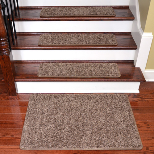 Brown Tape Free Stair Treads Amp Landing Mat 30 Quot X 9 Quot