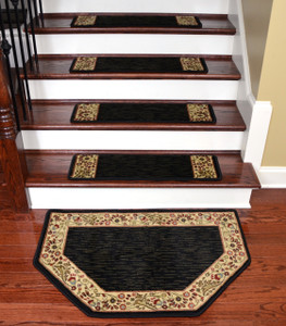 Dean Non Skid Stair Treads Set Of 15 W Matching Mat