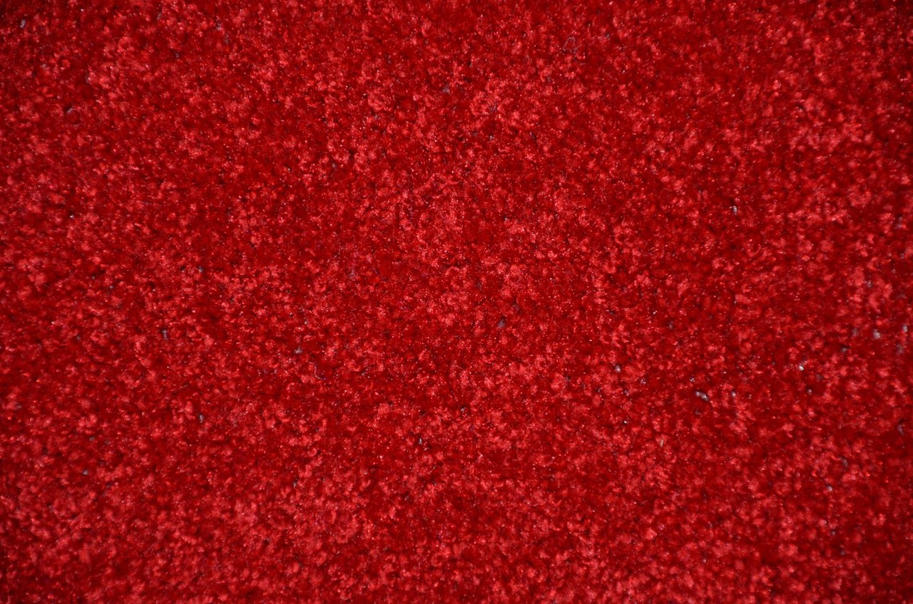 Fire Engine Red Bound Carpet Area Rug All Sizes