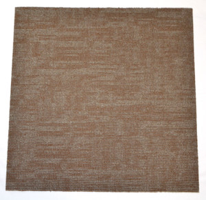 """DIY Carpet Tile Squares - Duplicate Brown - 24"""" x 24"""" Box of 12 (48 sf)"""