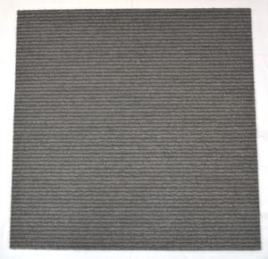 Dean DIY Carpet Tile Squares - Medium Gray - 48 SF Per Box -12 Pieces Per Box