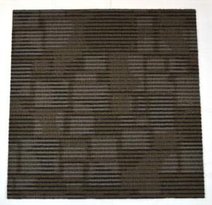 Dean DIY Carpet Tile Squares - Brown Shadow - 48 SF Per Box -12 Pieces Per Box