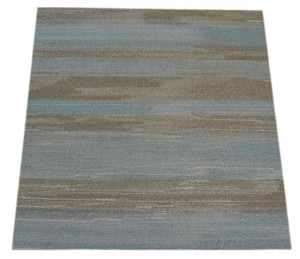 Dean DIY Carpet Tile Squares - Cloudy Sky Grey and Blue - 45 SF Per Box -12 Pieces Per Box - 36 Inch by 9 Inch Planks (20 Pieces)