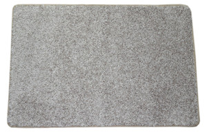 Dean Macadamia Beige Washable Non-Slip Carpet 2 Foot by 3 Foot Kitchen/Bath/Door Mat/Landing Rug