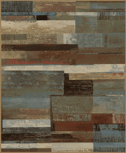 """Dean Scenic Vision Multi Lodge Cabin Rustic Mountain Outdoors Area Rug Size: 7'10"""" x 9'10"""" (8x10)"""