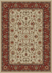 "Dean Classic Keshan Antique Oriental Area Rug Landing Mat (Set of 2) 27"" x 39"" (2x3)"